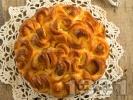 Рецепта Пухкава празнична домашна козуначена погача за Коледа